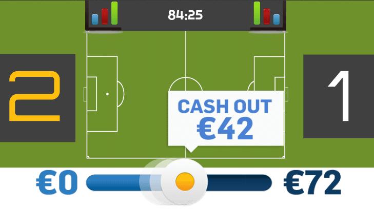 El Cash Out o cierre de apuesta anticipado