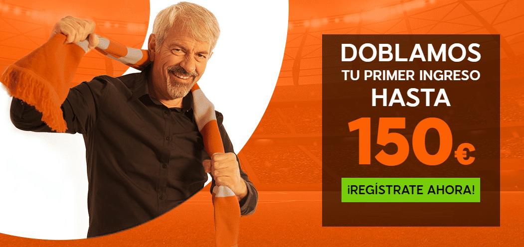 Bono Apuestas 888sport 100% hasta 150€