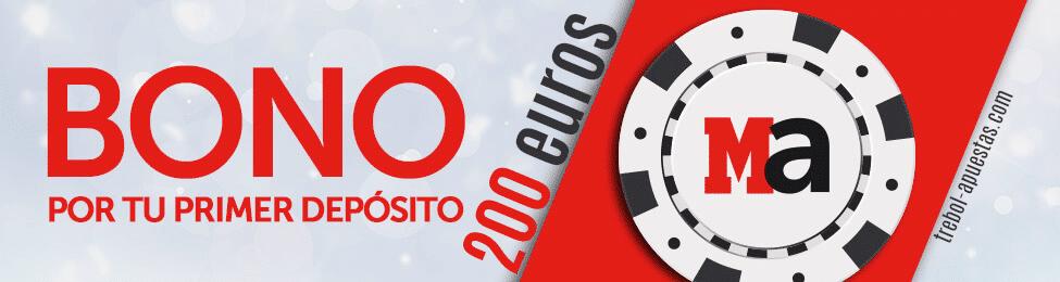 Bono Marca Apuestas 200 euros gratis