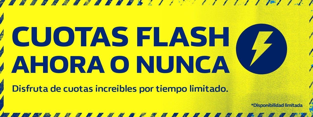 Cuotas Flash