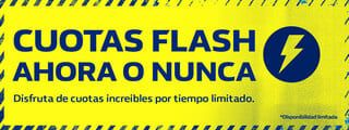 Promocion cuotas flash