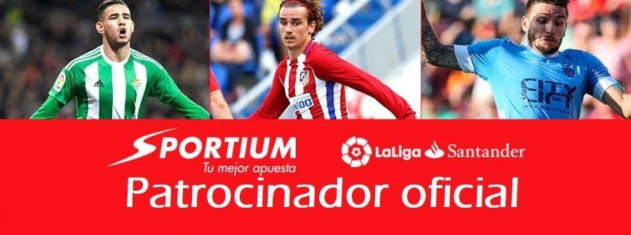 Sportium, patrocinador oficial de la liga santander
