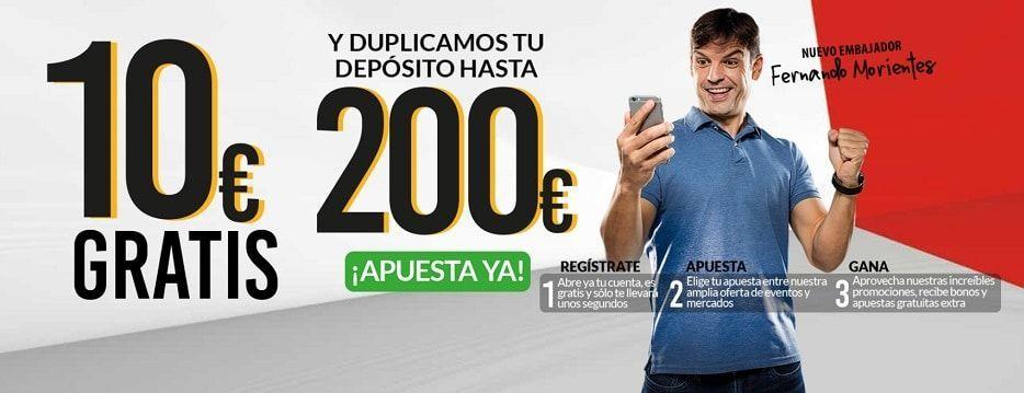 bono apuestas deportivas marca apuestas 10 euros gratis y hasta 200 euros para apuestas fernando morientes