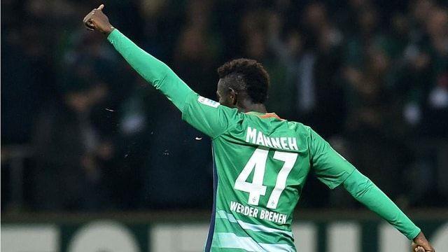 Ousman Manneh Werder Bremen - Eintracht Frankfurt