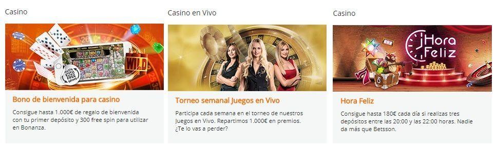 promociones betsson casino