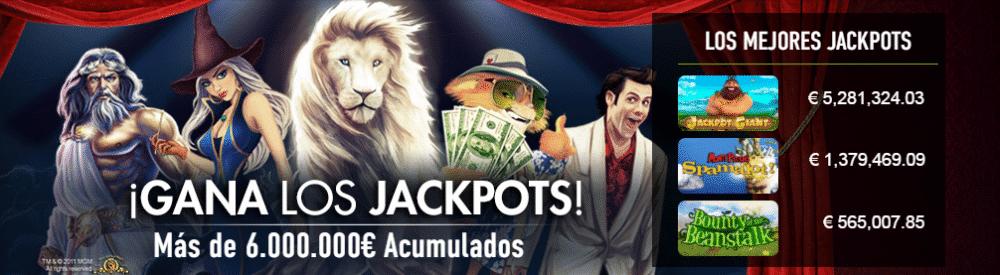 sportium casino jackpots