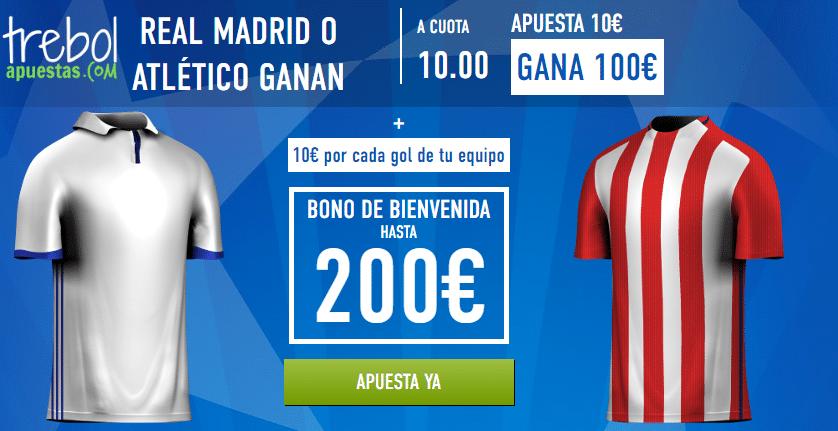 Supercuotas Real Madrid - Atlético de Madrid Sportium
