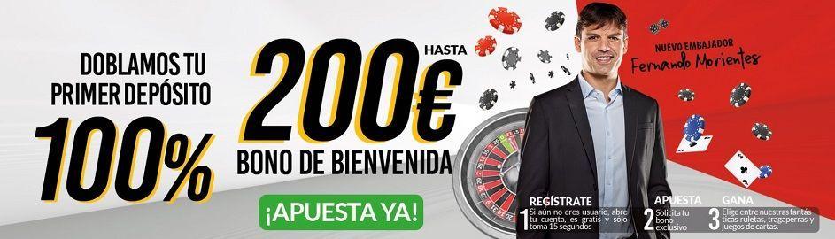 bono casino marca apuestas 200 euros fernando morientes