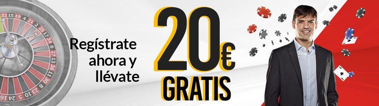 gratis 20 euros marca casino