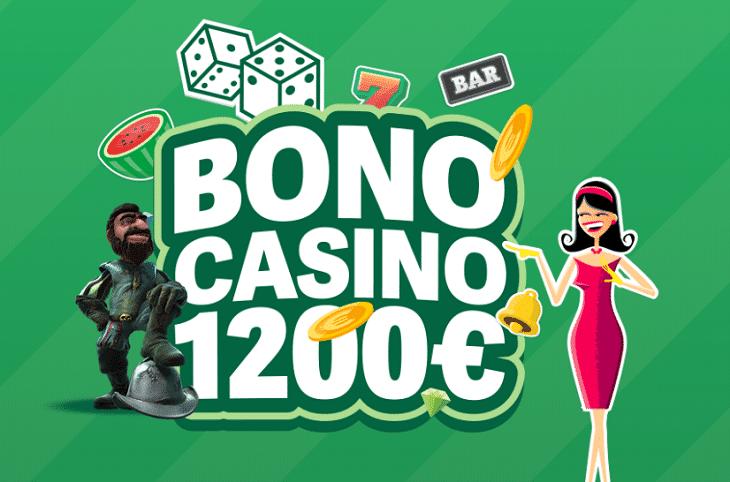 Bono caqsino Paf 1200 euros