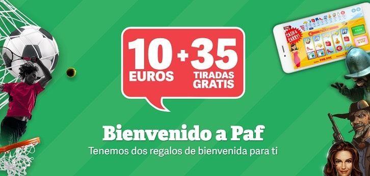 Bono gratis Paf casino