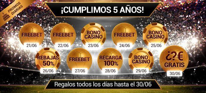 GoldenPark.es -5años - bonos y regalos gratis