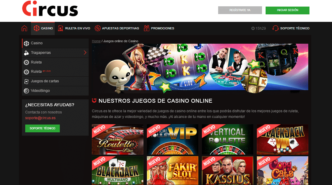 Portal Circus Casino