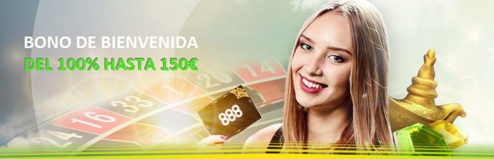 bono casino888 casino online 150 euros 100% primer deposito