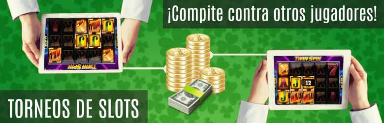 torneos de tragaperras y slots