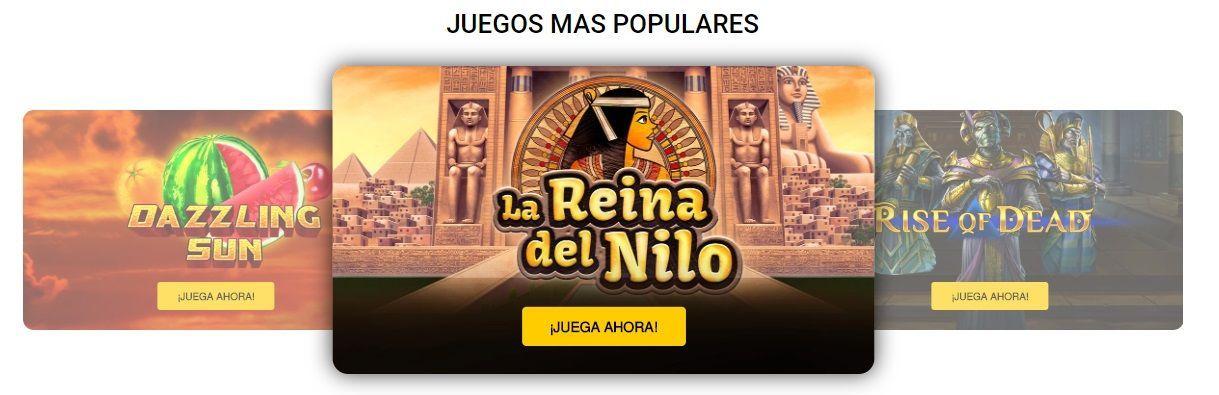 Juegos populares del casino