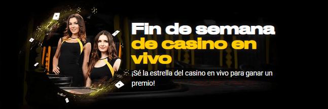Promociones - Fin de semana de casino en vivo Bwin