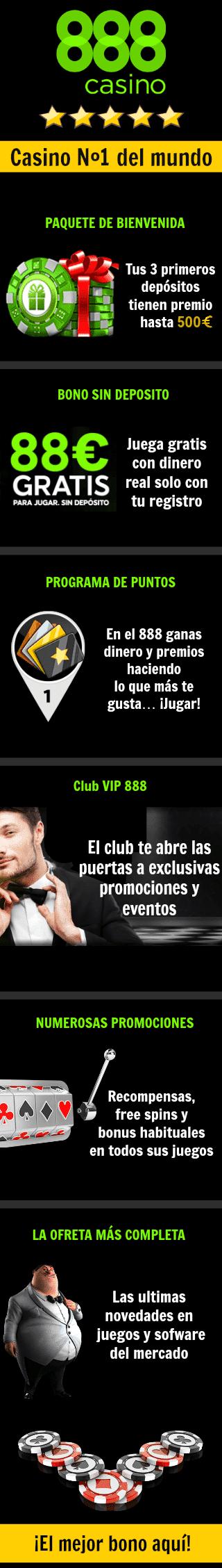 888 casino online promociones