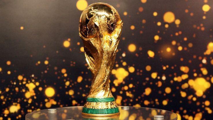 COPA del mundo 2018 trofeo