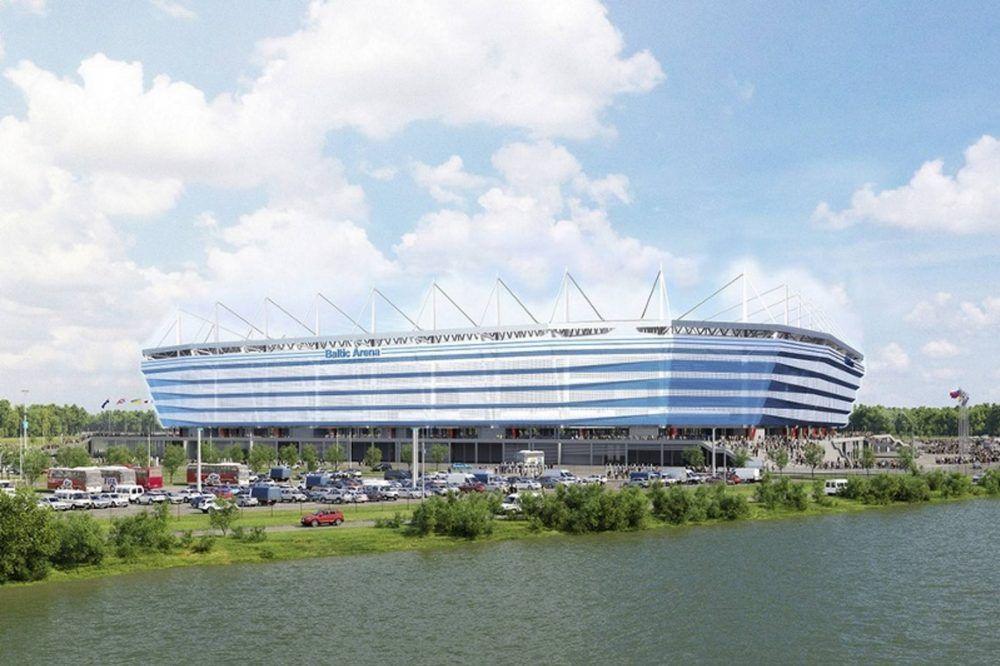 Estadio de Kaliningrado Mundial Rusia 2018