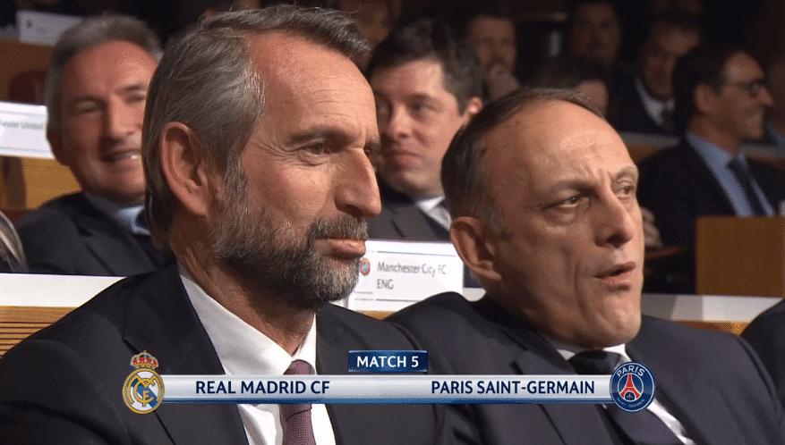 Reacciones ante Real Madrid PSG Paris Saint-Germain