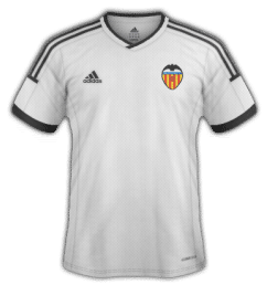 Camiseta Valencia Club de Fútbol