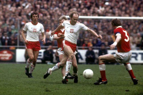Alemania Federal 1974 Grzegorz Lato fue la gran sorpresa
