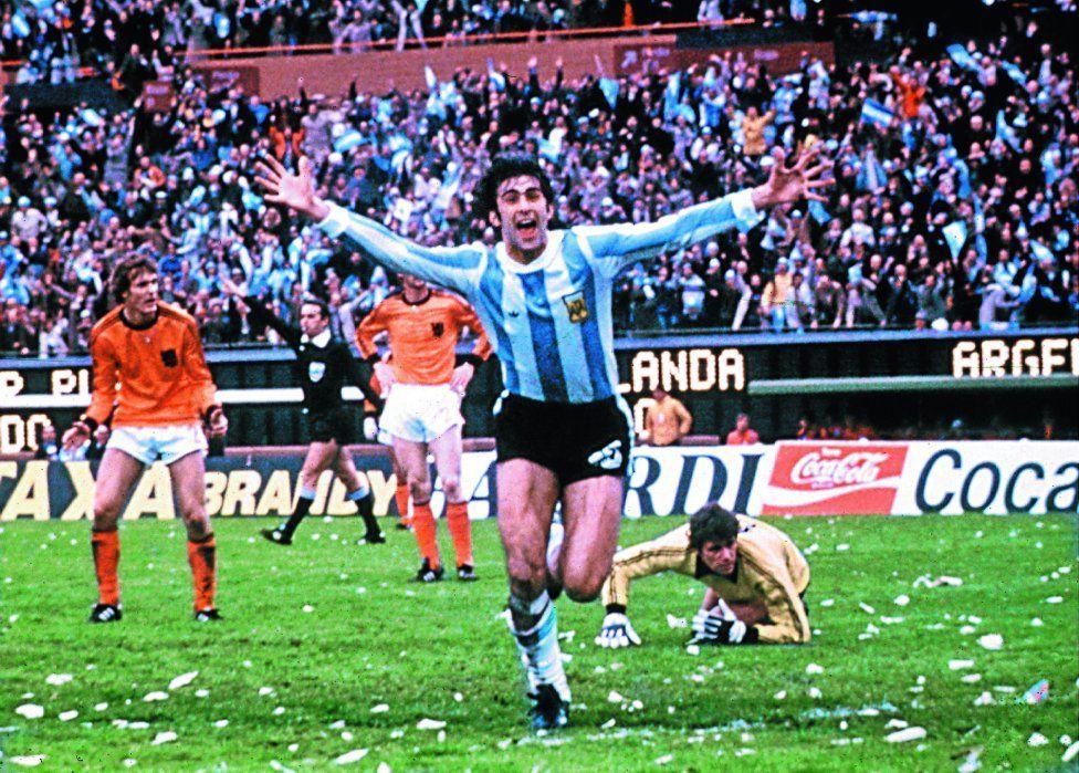 Argentina 1978 Kempes hace historia en su tierra