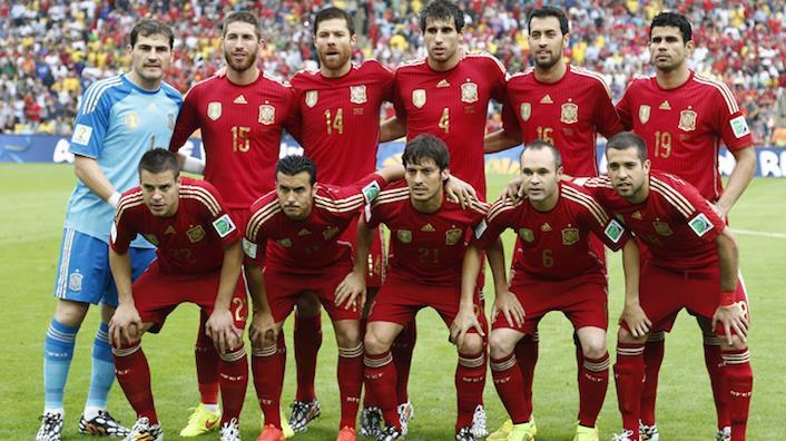 España en Brasil 2014