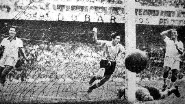 Brasil 1950 El Maracanazo tiene nombre y apellidos, Alcides Edgardo Ghiggia Pereyra