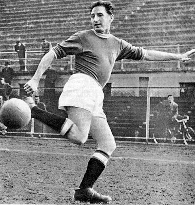 Francia 1938 Silvio Piola lleva a Italia a su segundo título