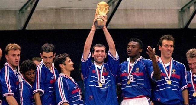 Francia 1998 Zidane reina en su país