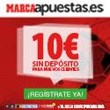 10 euros gratis marca apuestas