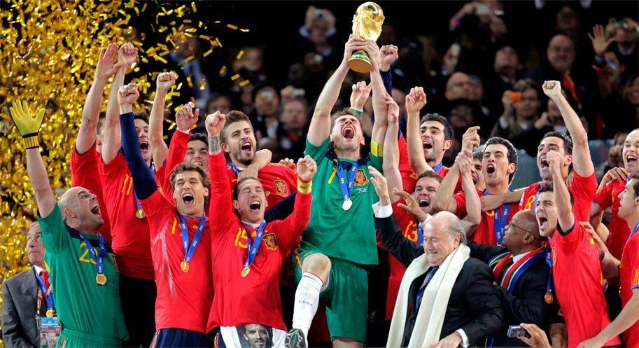 España campeona del mundo en Sudáfrica 2010