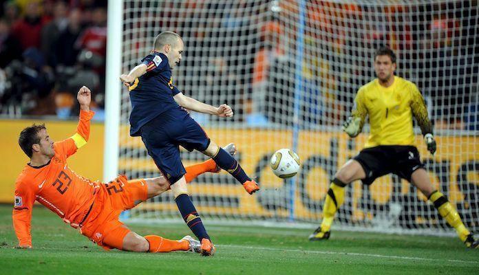 Gol de Iniesta en la final de 2010