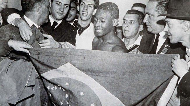 Suecia 1958 Un jovencísimo Pelé lleva a Brasil a la gloria