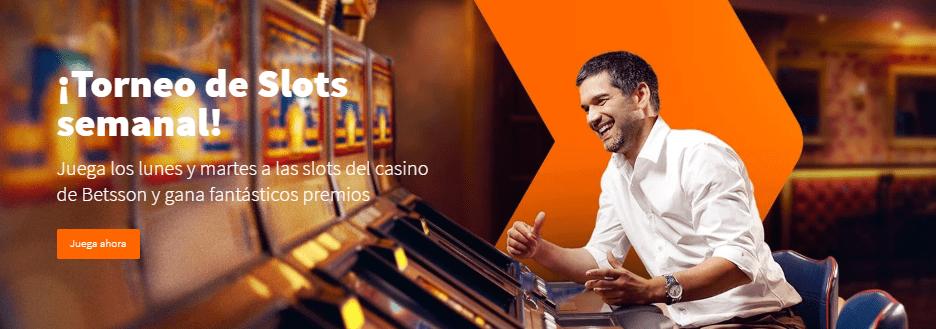 torneos de slots en Betsson casino