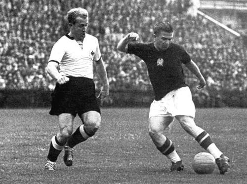 Partido historico Mundial de 1954 Hungría 2-3 Alemania