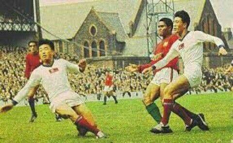 Partido historico Mundial de 1966 Portugal 5-3 Corea del Norte