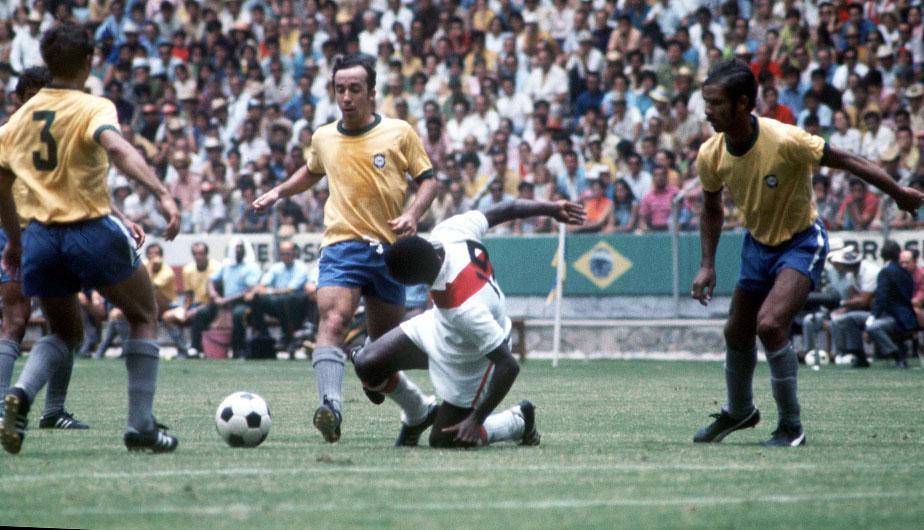 Partido historico Mundial de 1970 Brasil 4-2 Perú