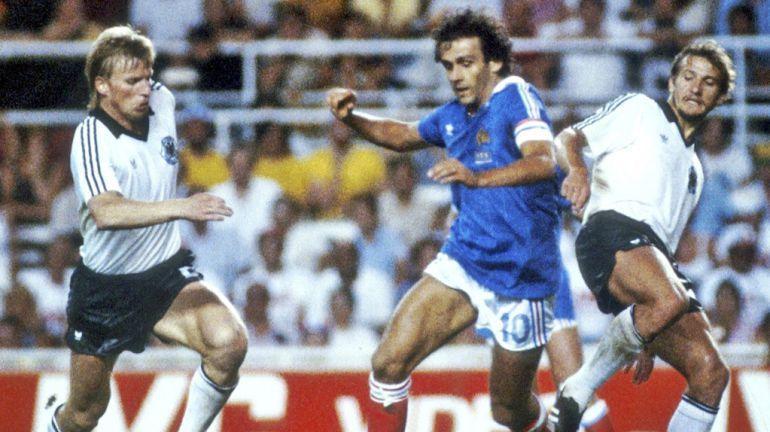 Partido historico Mundial de 1982 Alemania 3 (5)-(4) 3 Francia