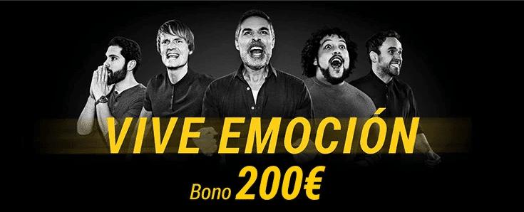 Bono Bwin bienvenida 200 euros