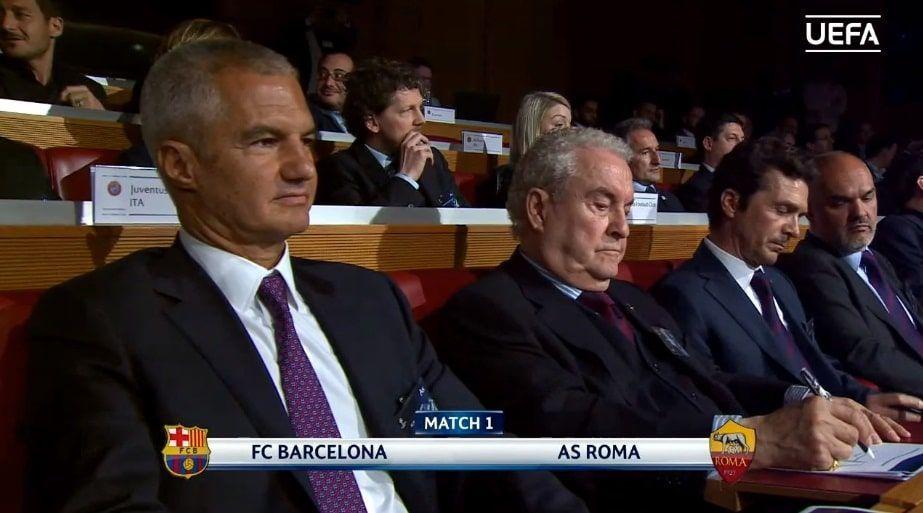 Sorteo de cuartos de Champions League 2018 FC Barcelona - Roma