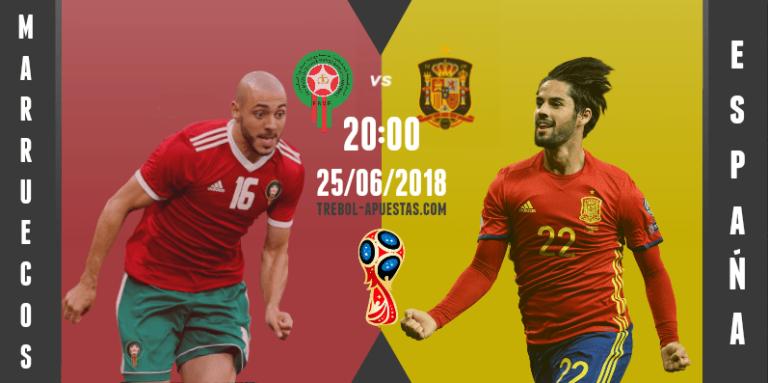 España – Marruecos: Al asalto del primer puesto del grupo