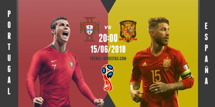 Portugal – España Duelo ibérico para empezar el Mundial de Rusia 2018