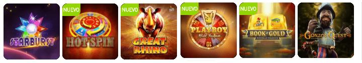 slots populares Casino777