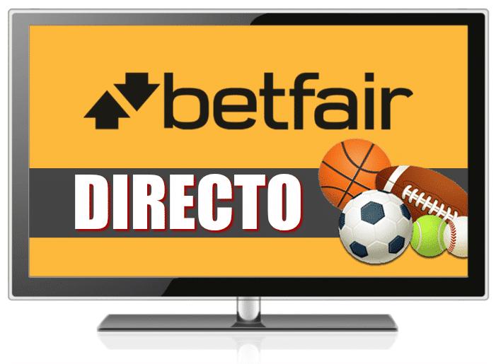 Ver fútbol en Betfair