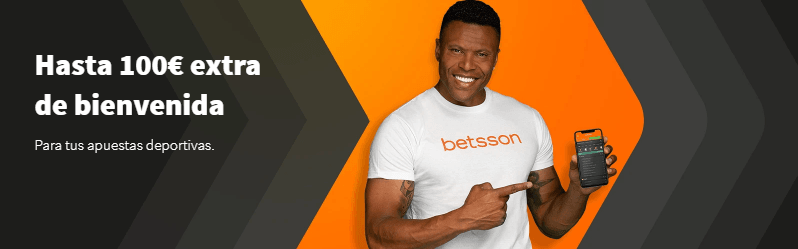 nuevo bono de bienvenida Betsson apuestas deportivas