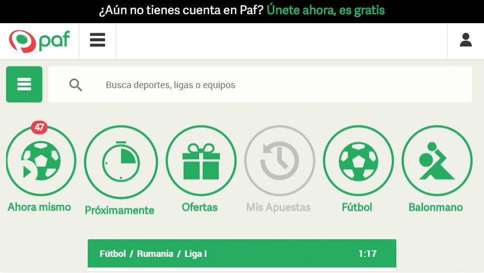 web paf
