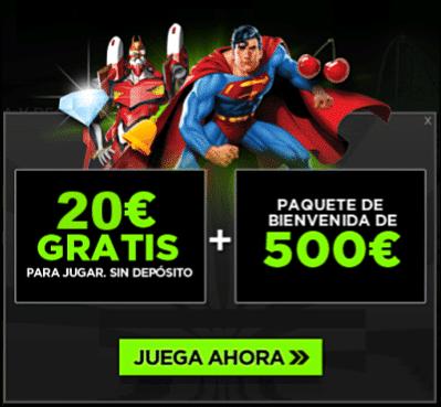 888casino 20 gratis